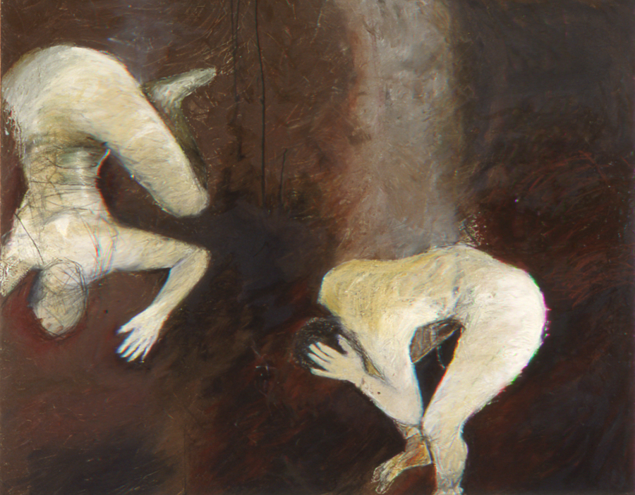 P1.  SHOULDER IN MY POCKET. oil on canvas. 58x72.  1995.jpg