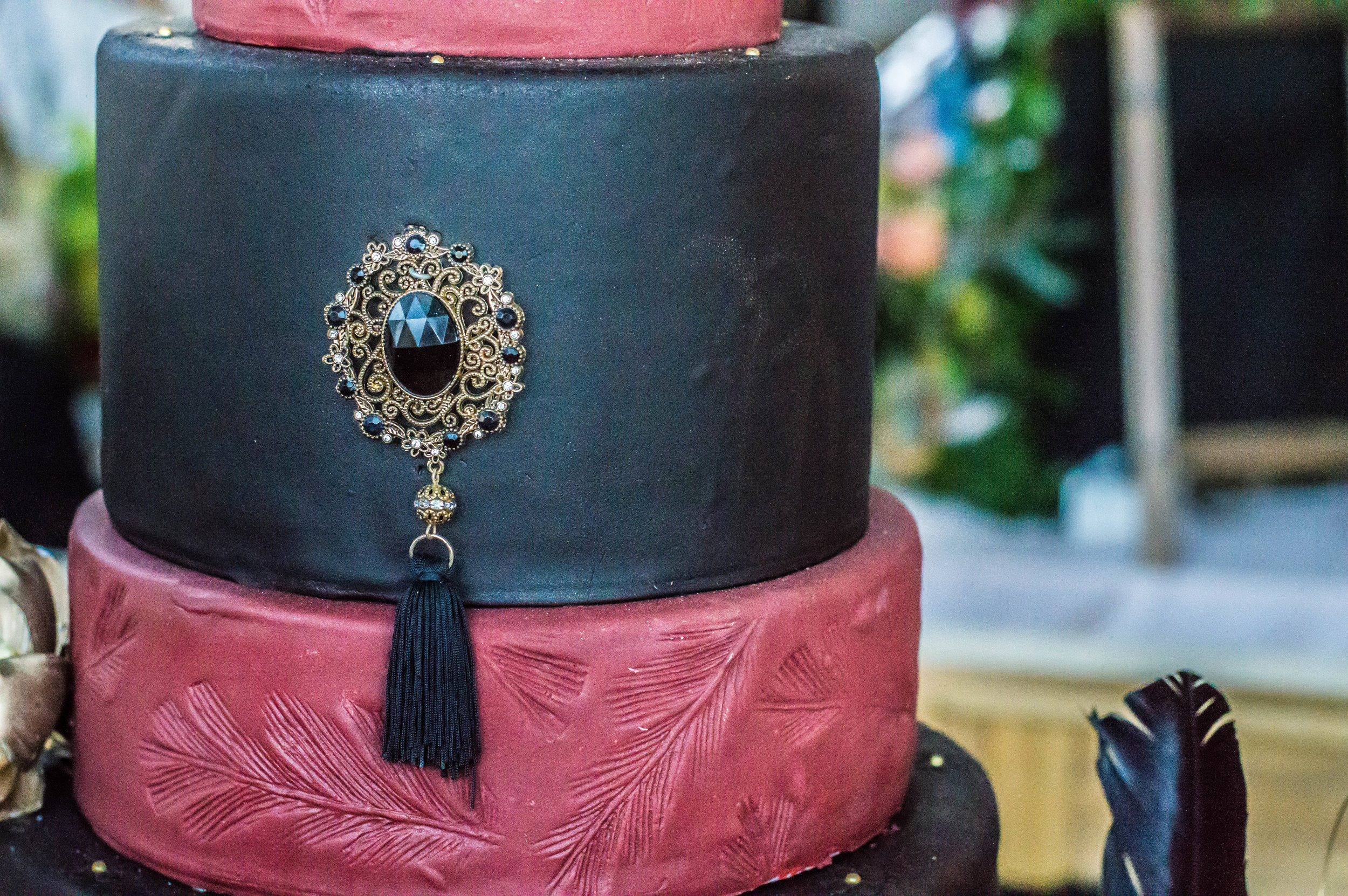 Gorgeous cake from Chef Dana from Desserts By Dana