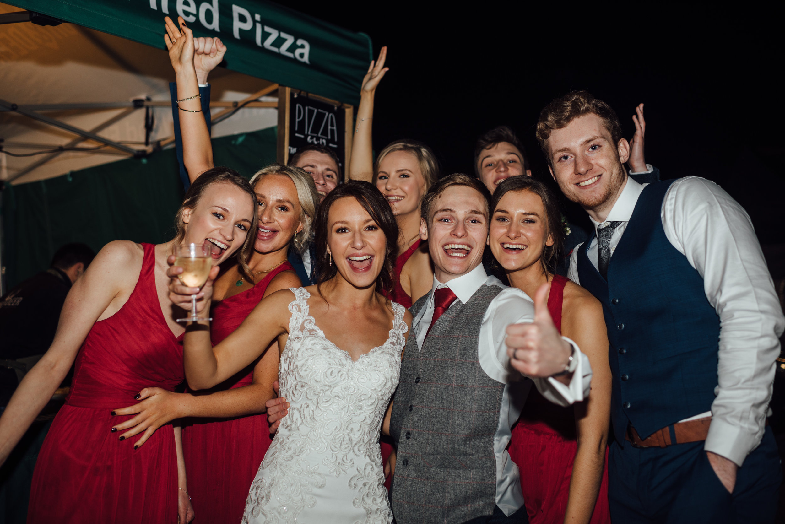 Wedding Pizza - a must!