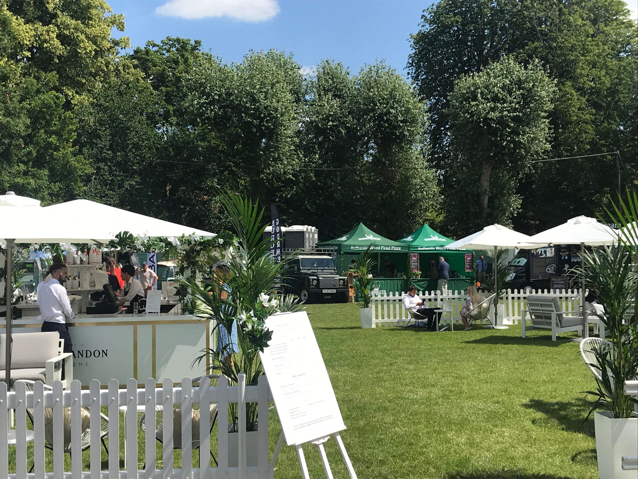 Large Events & Festivals - We can provide catering for events of all shapes and sizes so if you are planning a large event and have some specific catering needs please get in touch for a chat about our large event services. Our Pizza van is perfect for events that require a premium catering service, whether your looking to cater for VIP's or hungry customers then we can help!
