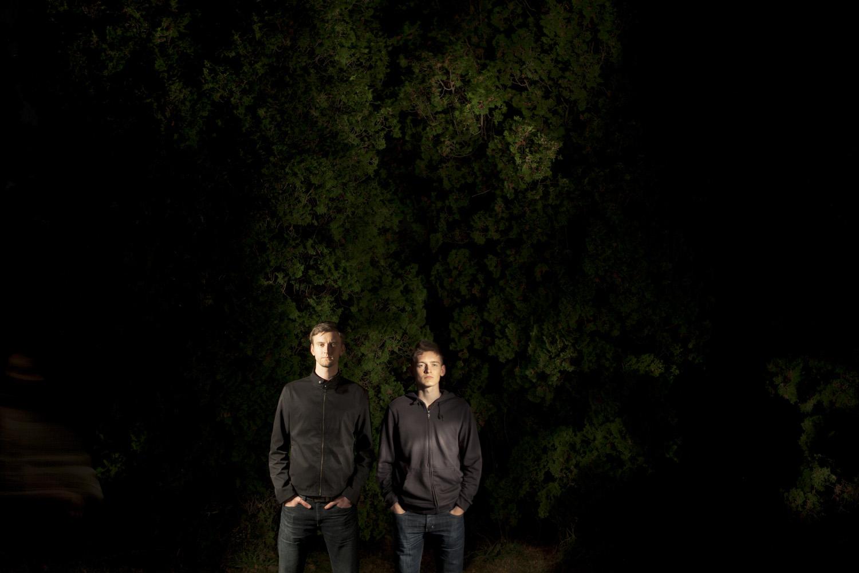 The Wire Frames Press Photo Dark