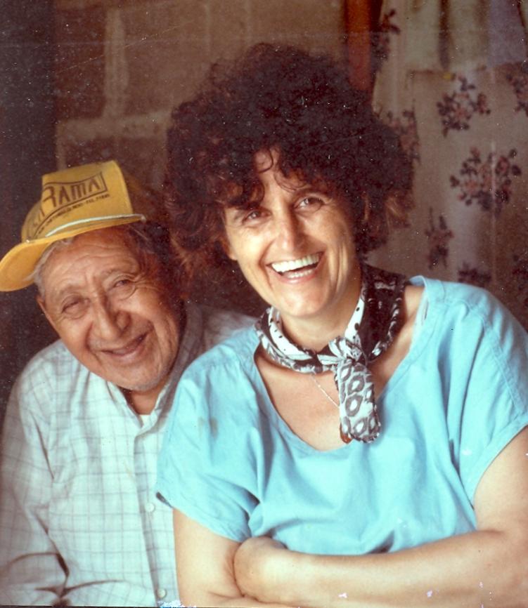 Dr Rosita Arvigo and her mentor, Don Elijio Panti, last of the Maya Shaman of Belize
