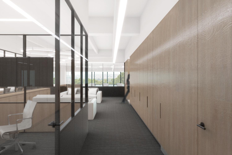 OFICINAS INVERTIERRA   Cliente: CCA - Centro de Colaboración Arquitectónica / Invertierra  Diseño de Iluminación: Valeria González  Santa Fe, Ciudad de México, 2018  imagen: CCA