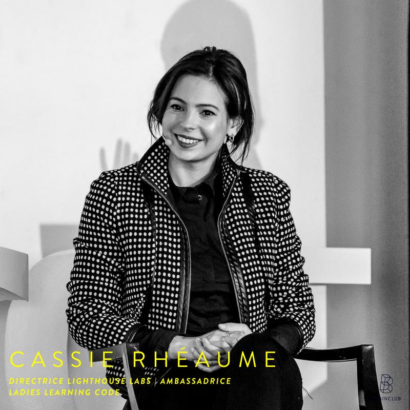 CASSIE L. RHÉAUME - Citée parmi «les 50 Québécois qui créent l'extraordinaire» en 2016 par le magasine Urbania, nommée dans le top 30 under 30 d'Infopresse de la même année et récemment lauréate du prix Inspirationnelle - Jeune femme en technologie par Génération W, Cassie L. Rhéaume est une véritable évangéliste des technologies. Elle est l'exemple du profil atypique qui fait bouger les choses. Après des études et une carrière en marketing, sa passion pour le web a finalement pris le dessus. Elle décide alors de devenir développeuse web. Évoluant dans cette industrie surtout composée d'hommes, les enjeux féministes lui tiennent à cœur.Elle est actuellement responsable de l'éducation chez Lighthouse Labs Montréal, une école de formation accélérée pour devenir développeur.euses web full-stack en 10 semaines. Elle est également responsable du chapitre de Ladies Learning Code à Montréal, organisme qui conçoit des ateliers de littératie numérique pour les femmes.Atelier : FUNdamentals of web development - une intro au HTML & CSS?