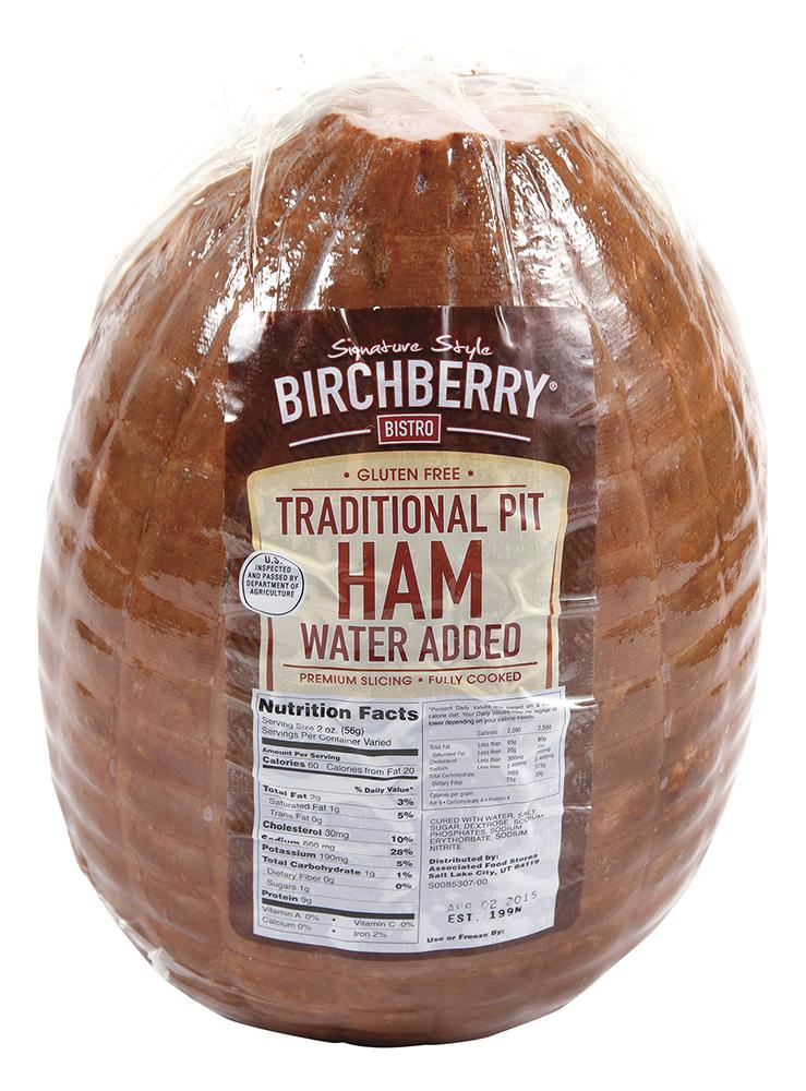 Traditional Pit Ham
