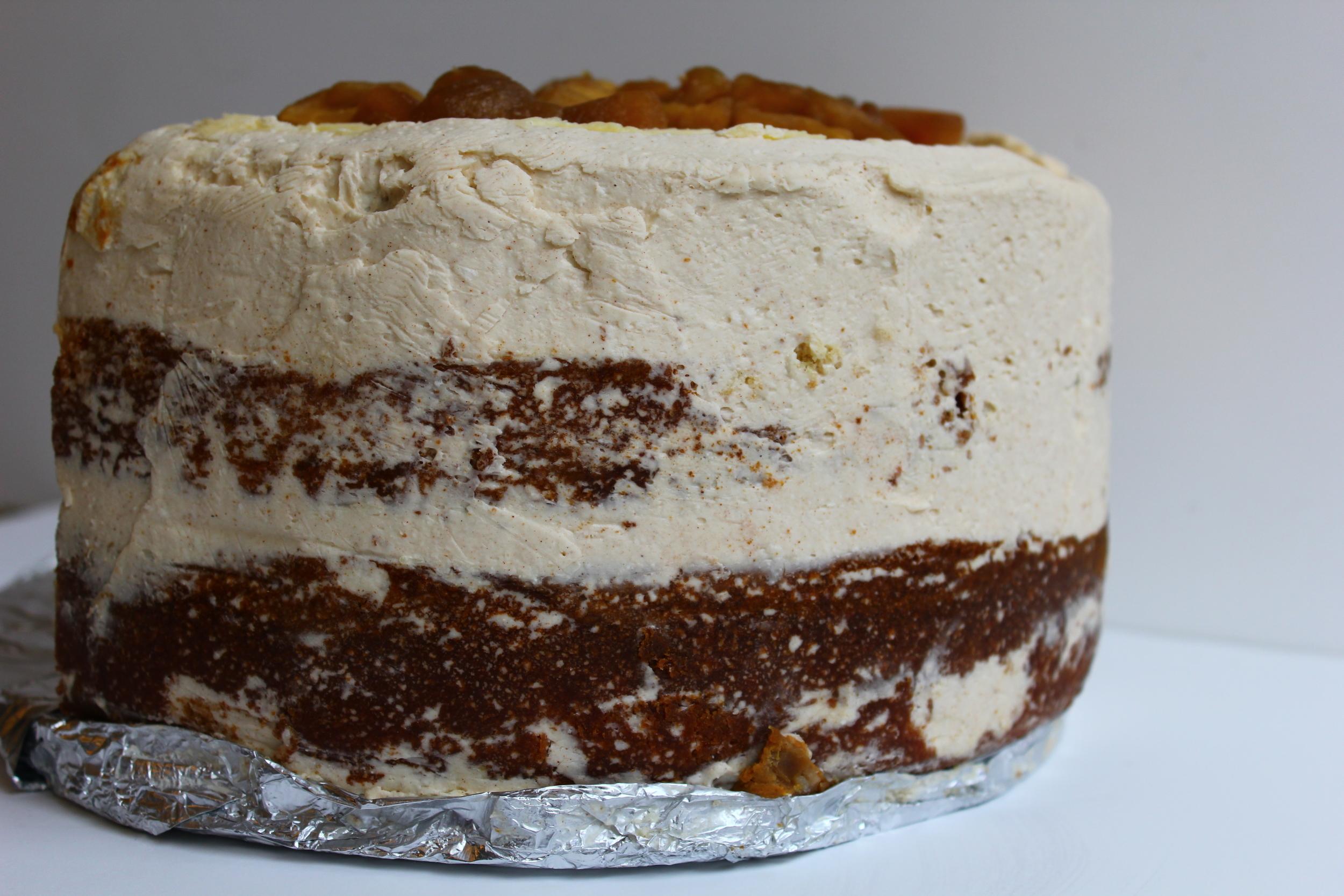my first piecake #piecaken