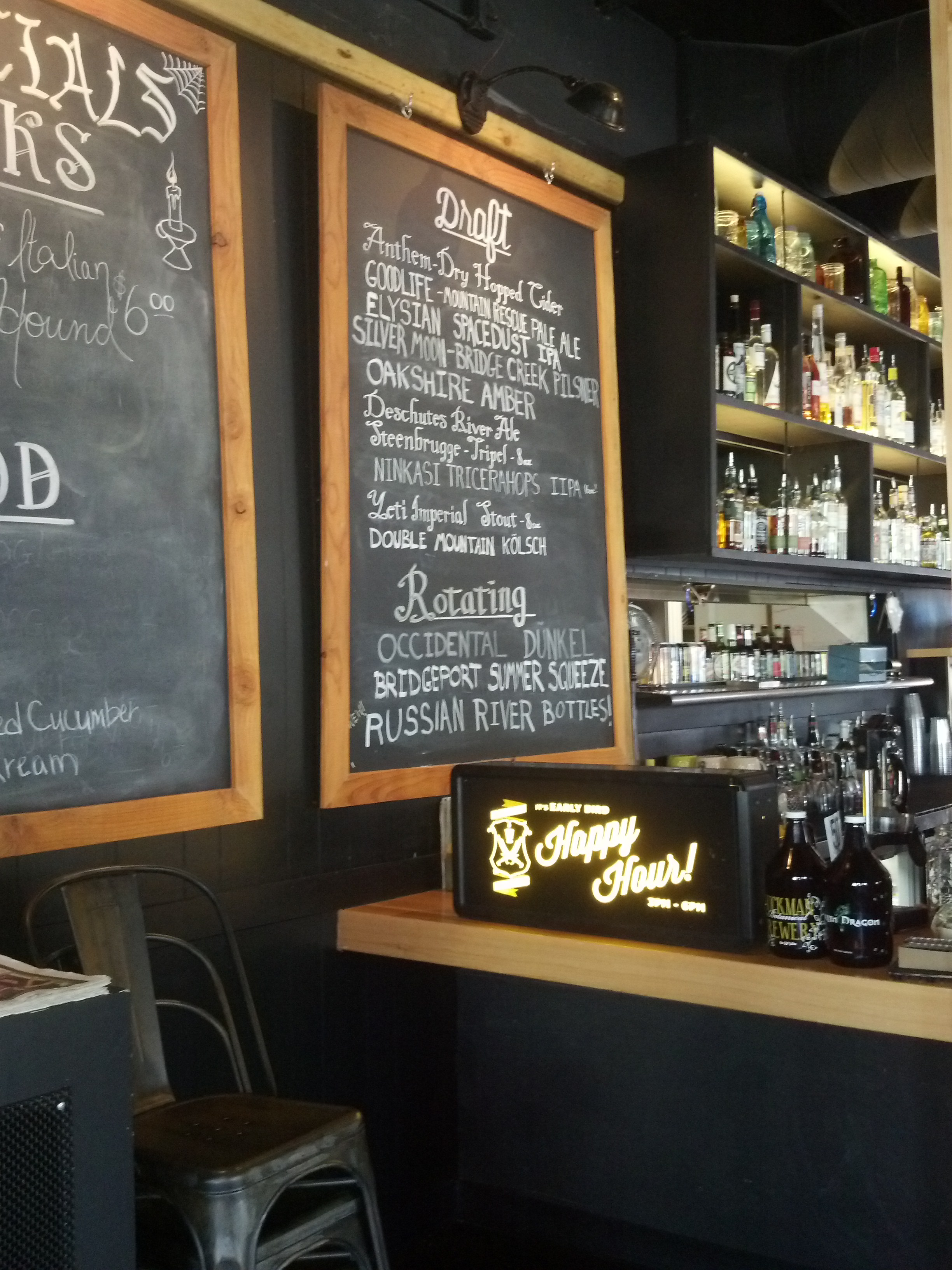 MAXENE'S 2015 FAVORITE RESTAURANTS IN PORTLAND, WHITE OWL SOCIAL CLUB