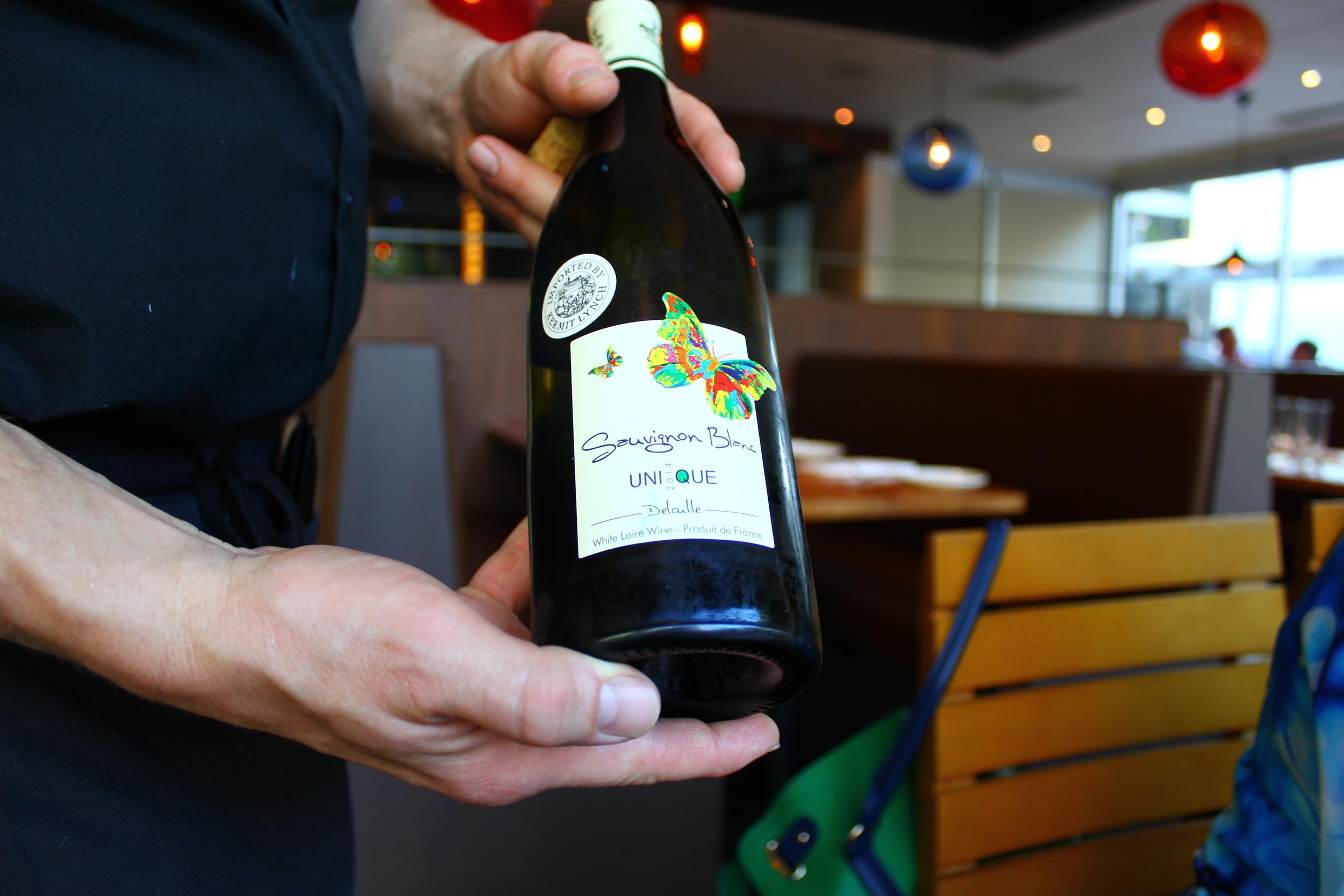 wine pairings at Nel Centro