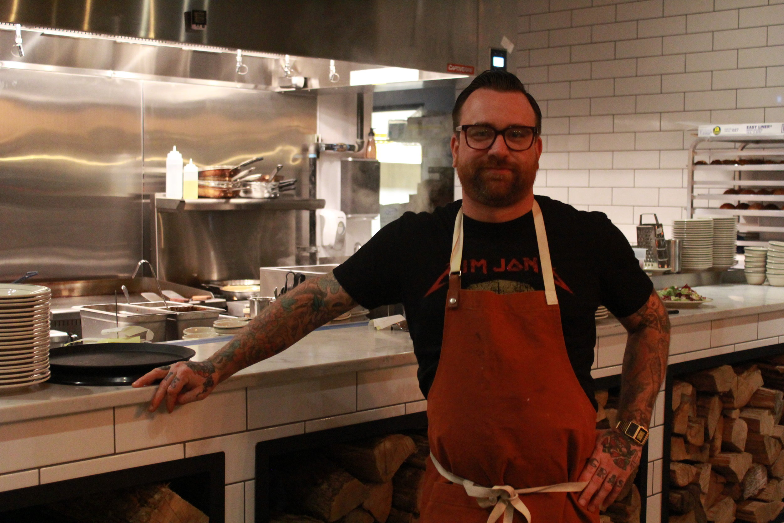 CHEF BJ SMITH OF SMOKEHOUSE PROVISIONS IN VANCOUVER, WA
