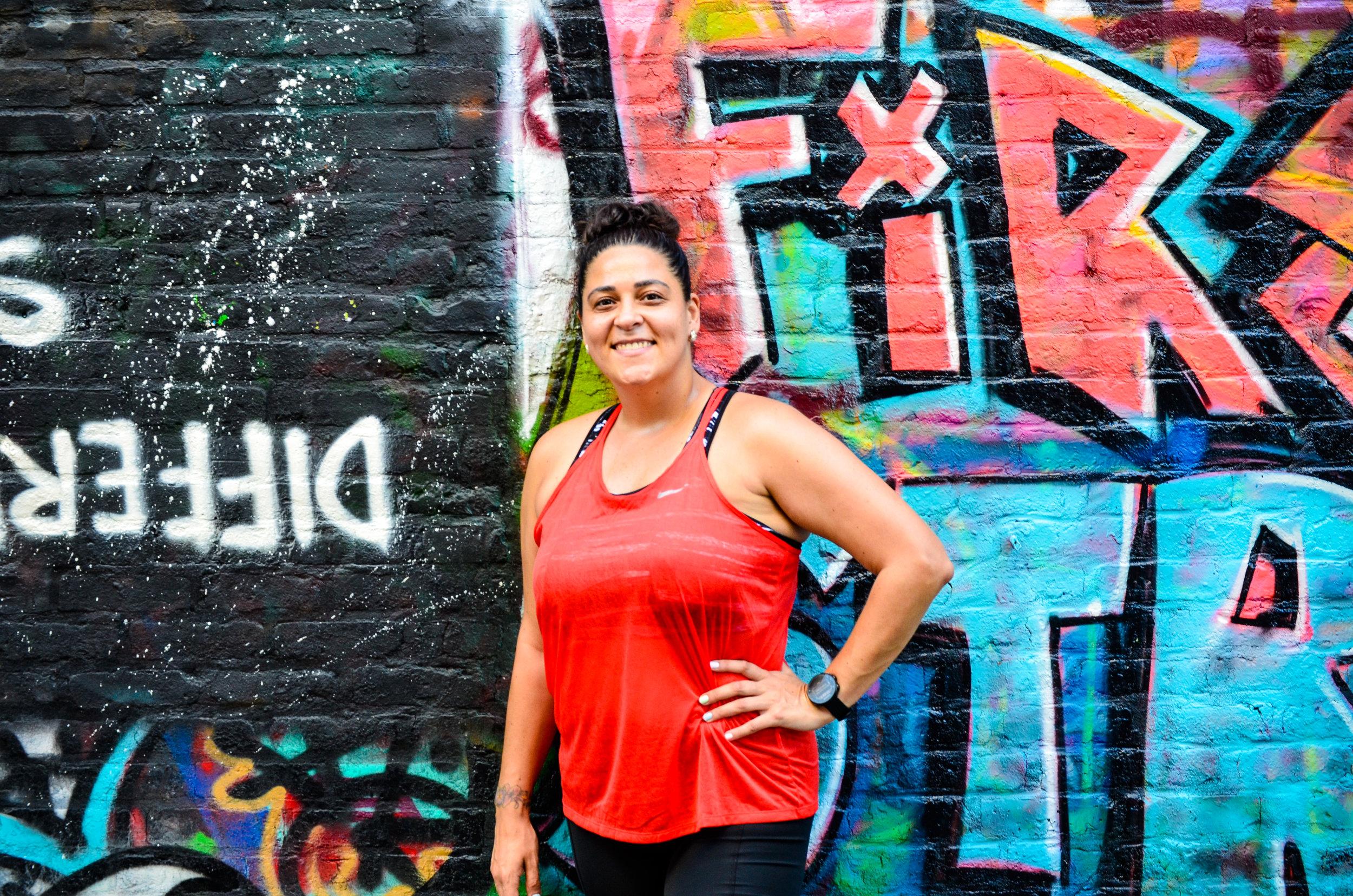 Hektad  street art at  First Street Green Art Park .