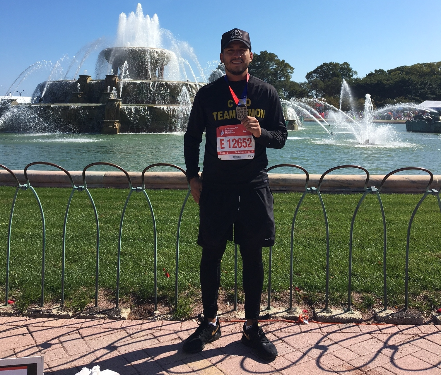 Christian is running to raise funds to fight childhood cancer. Check out his campaign  here .