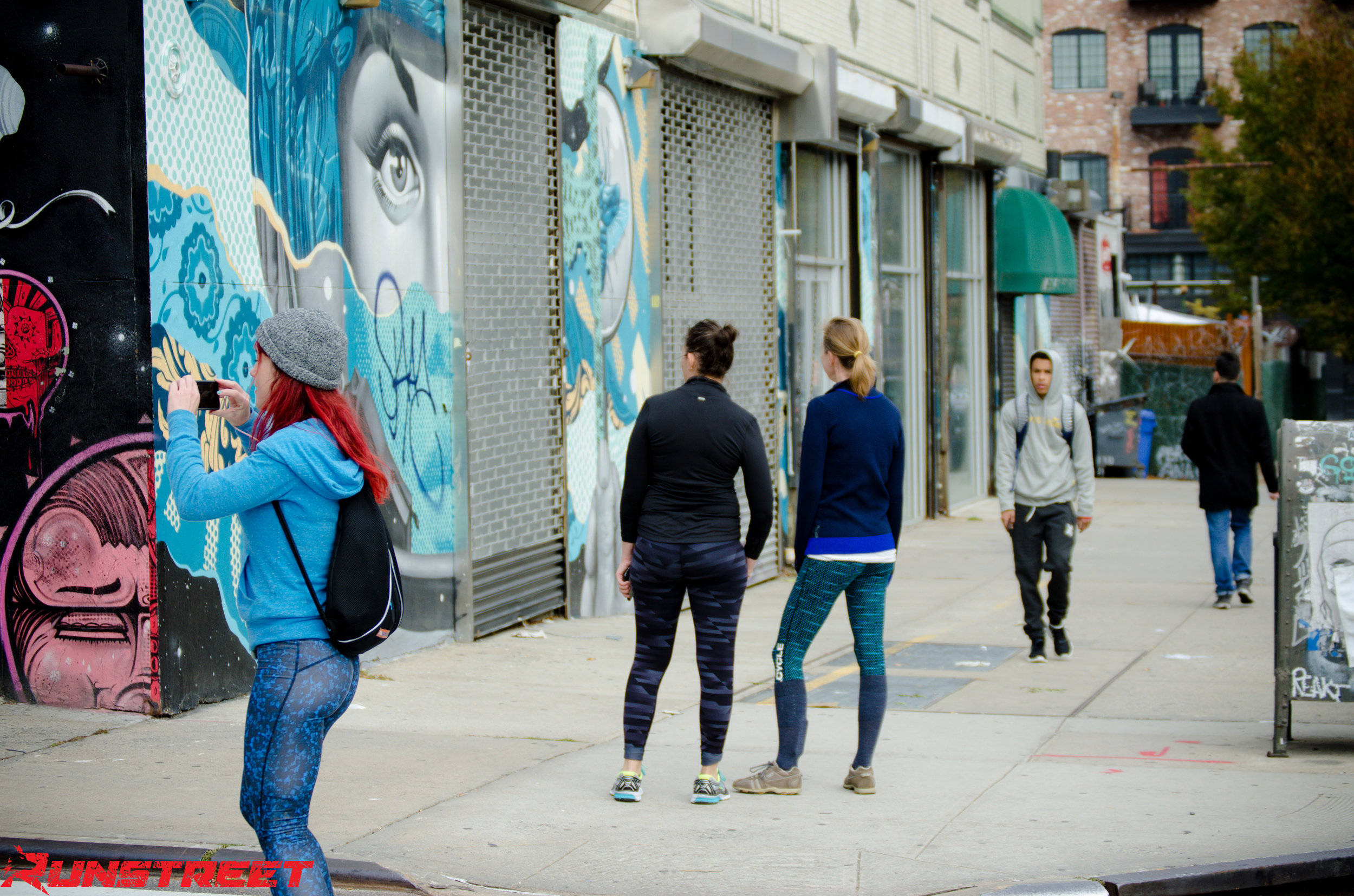 Tristan Eaton  art in Williamsburg.