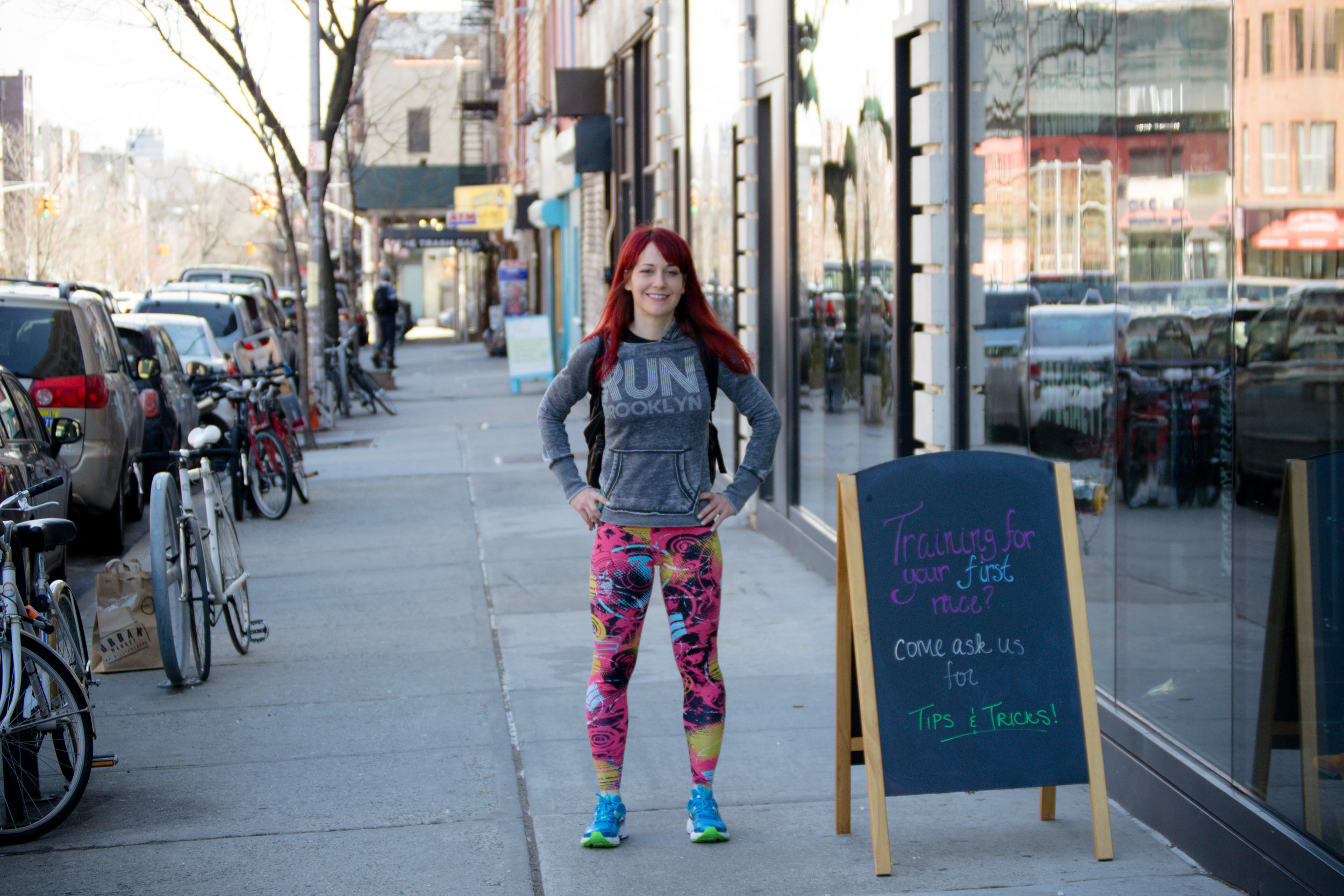 Photo at the  Brooklyn Running Company  by  Filles + Garçons Photography .