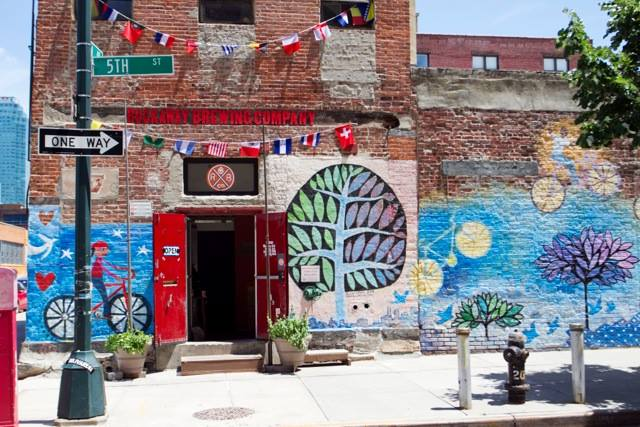 Rockaway Brewery will be our host for this fun-filled, art + beer run.