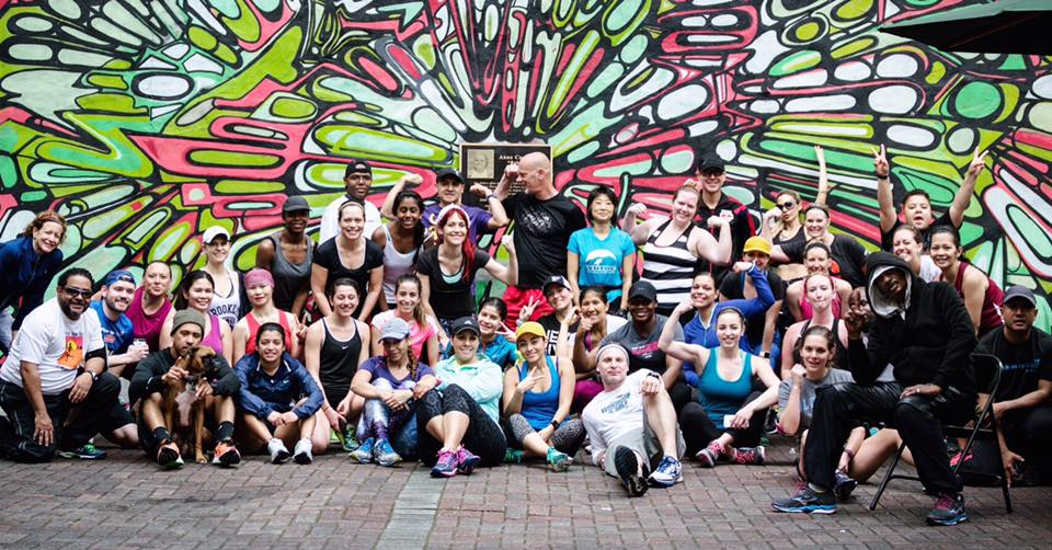 Photo by  Marques Jackson from Runstreet Art Run with Back on My Feet NYC.