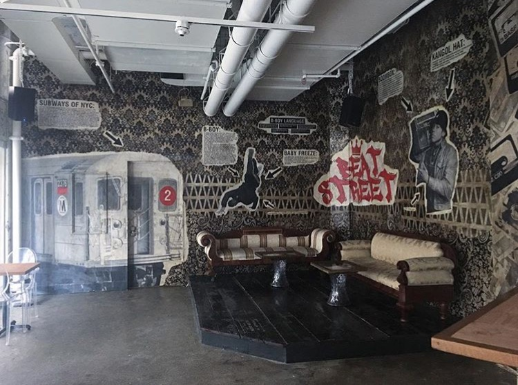 Check out Ivan Orama's dope new work at  Beat Street  in Jersey City.