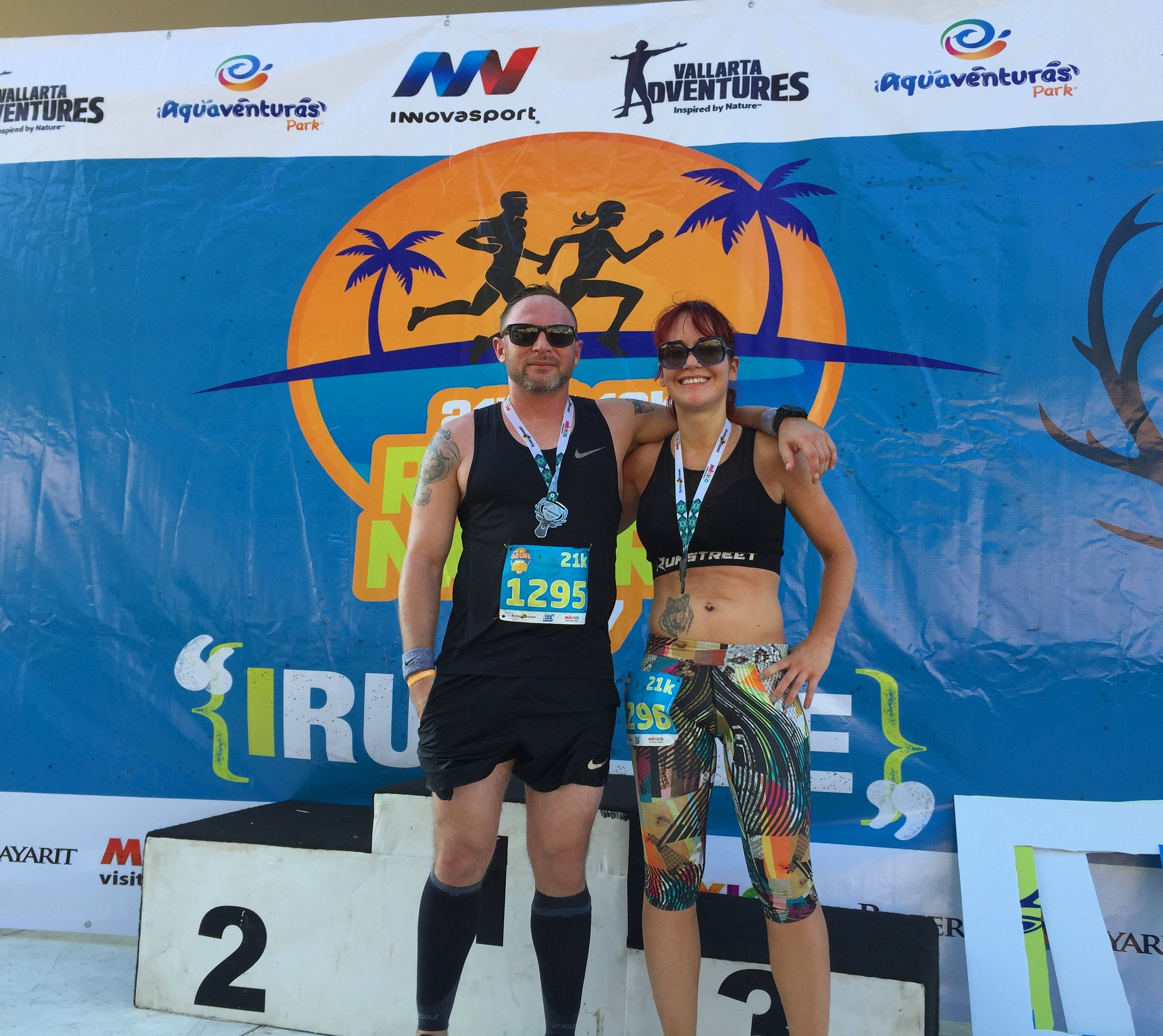 Riviera Nayarit Half Marathon was a beautiful race and such a relaxing trip to Mexico.
