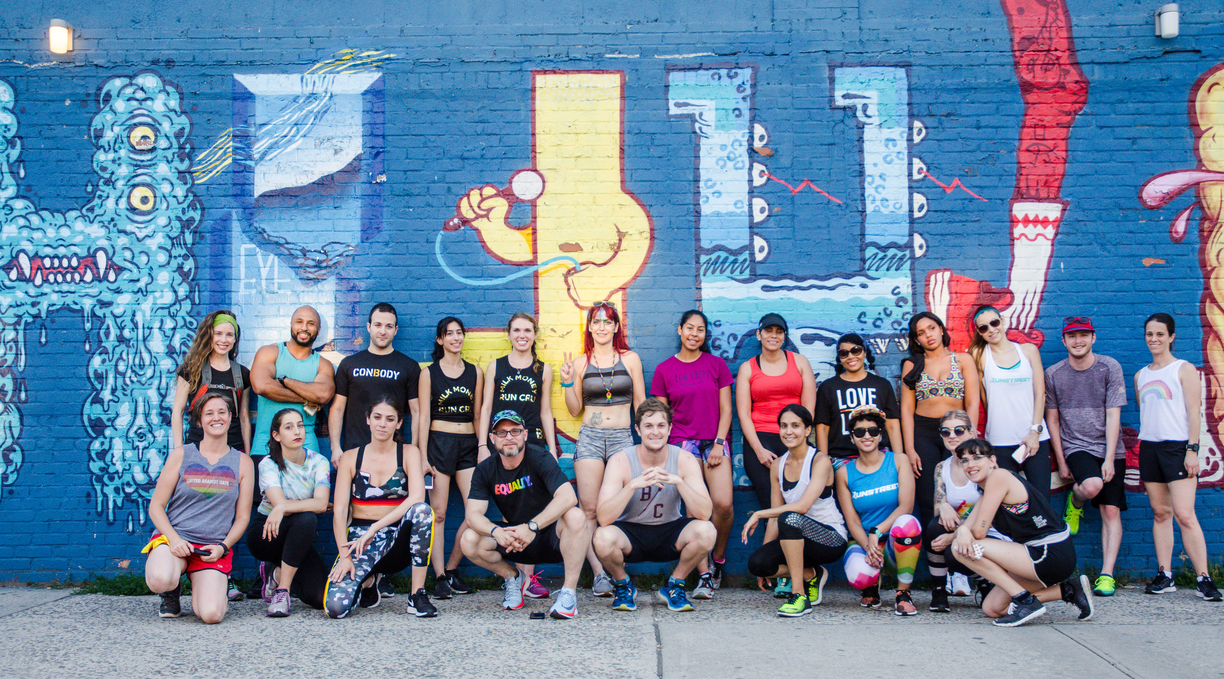 Runstreet Pride Art Run with ConBody raised funds for the LGBTQ Victory Fund.