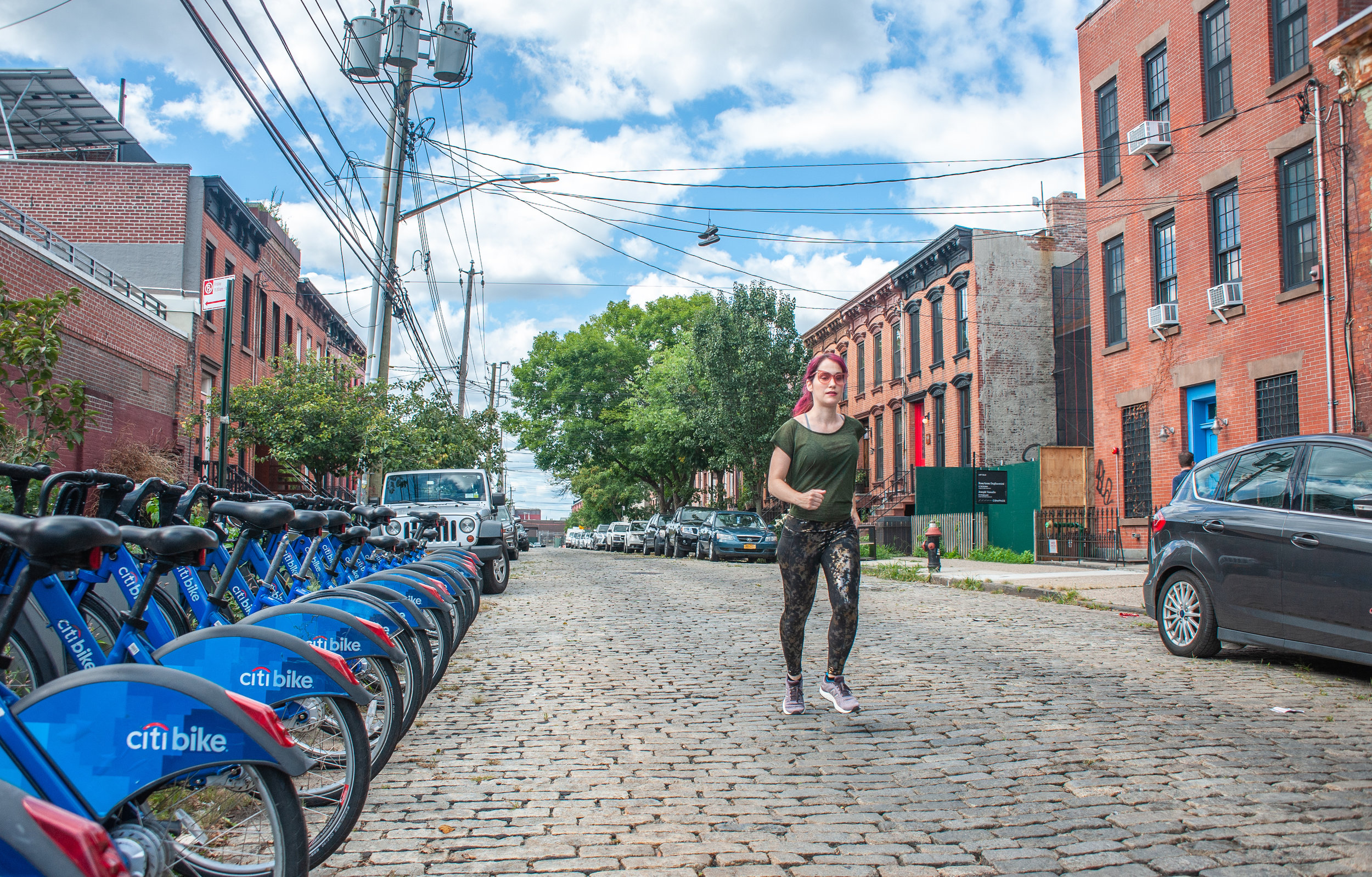 Red Hook, full of quiet streets, is a nice getaway from the hustle and bustle of NYC.