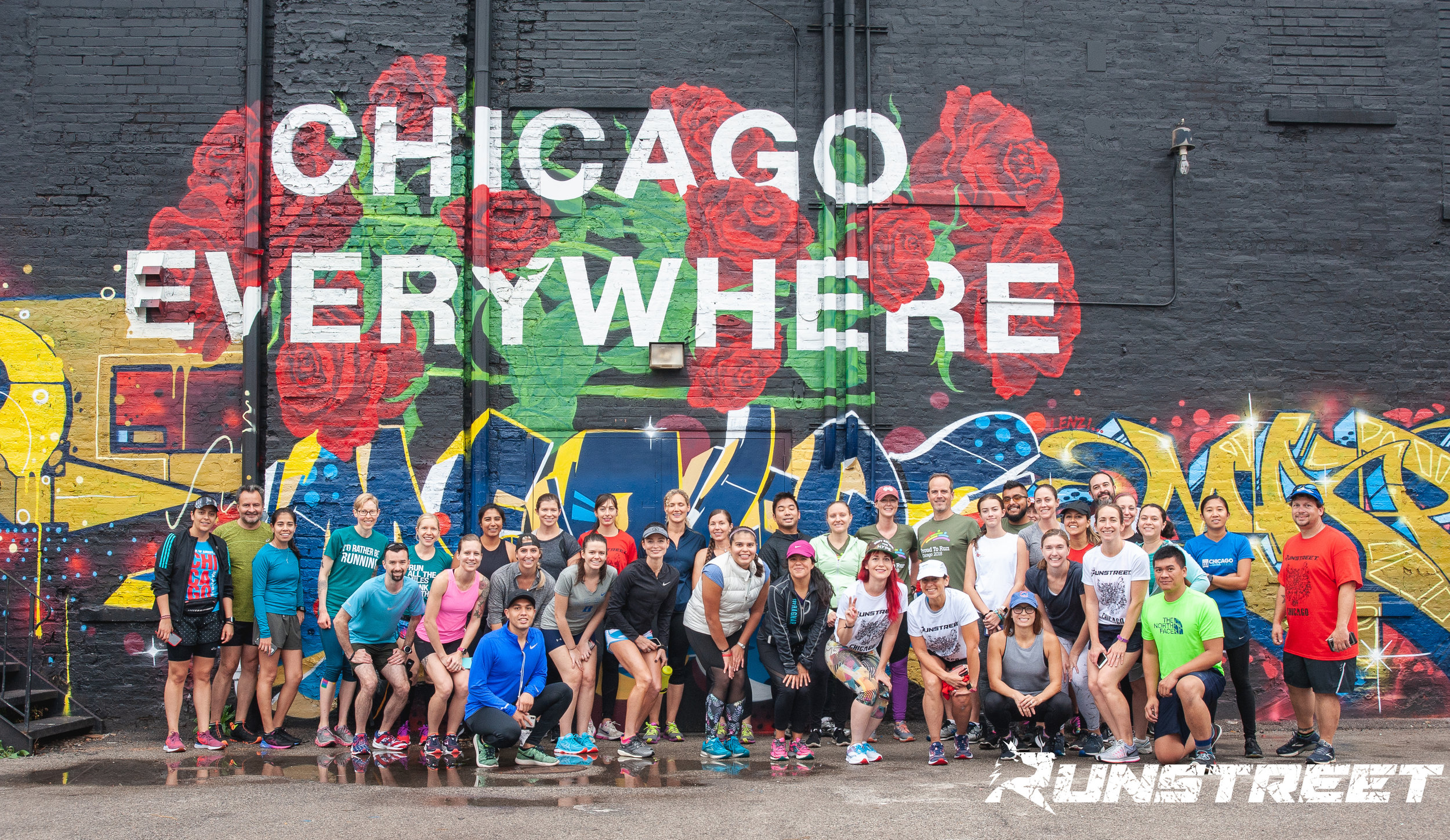 Photo by  Marques Jackson  at 2018 Chicago Shakeout Art Run with Clif Bar. Register for 2019 Chicago Shakeout Art Run  here .