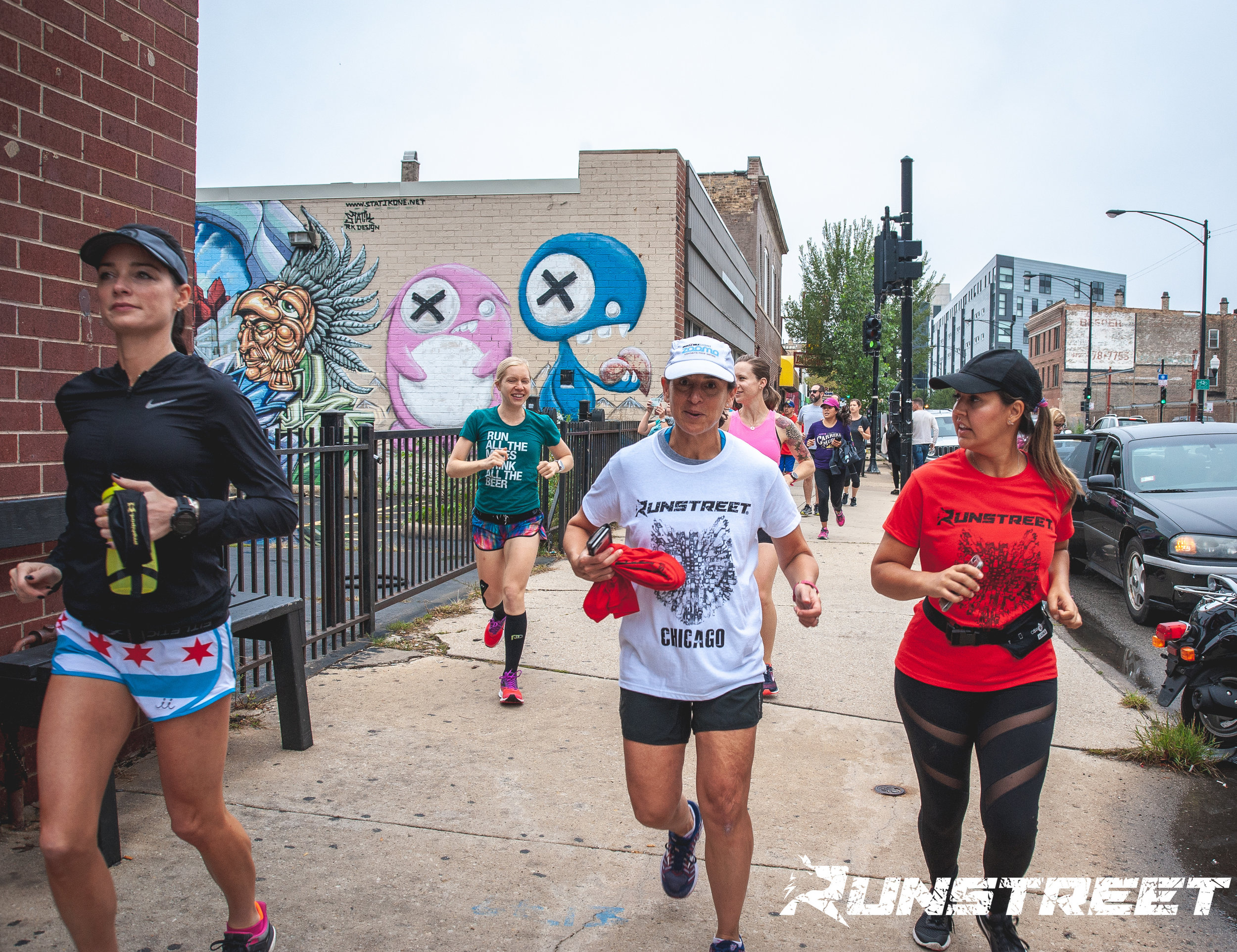 Photo by  Marques Jackson  at 2018 Chicago Shakeout Art Run.