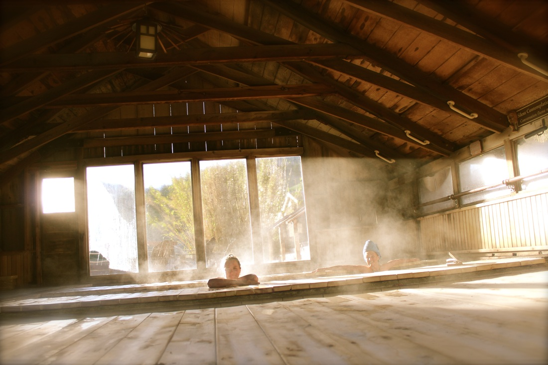 Open day and night to registered guests, Wilbur Hot Springs are quiet and serene—a safe haven where courtesy and modesty prevail. The bathing area is private and clothing optional (although clothing is required everywhere else on the property).