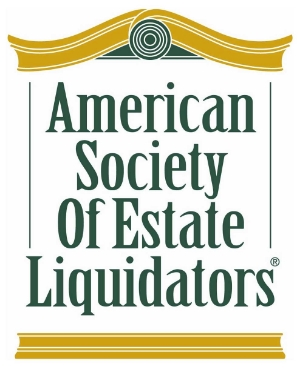 We are a proud member of the  American Society of Estate Liquidators® , the nation's #1 estate sales association.