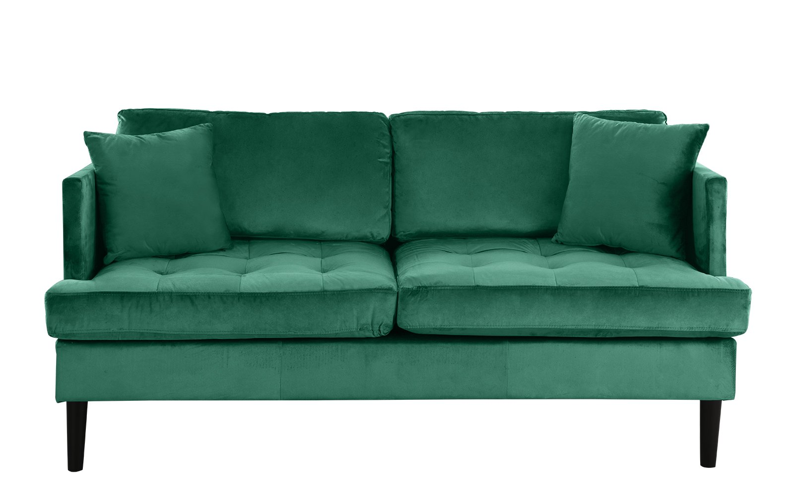 greta old hollywood velvet tufted loveseat - $229.99  i like this one, although it's getting close to a grandma kind of vibe i think it's pretty cool and affordable.