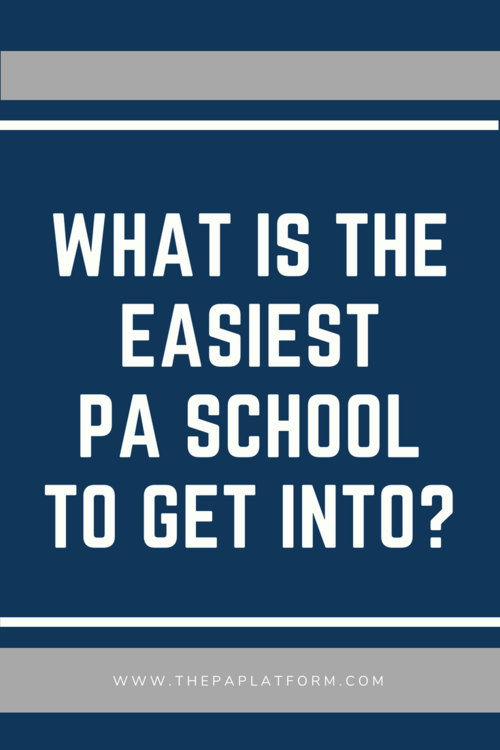 Getting into PA School with a Low GPA — The PA Platform
