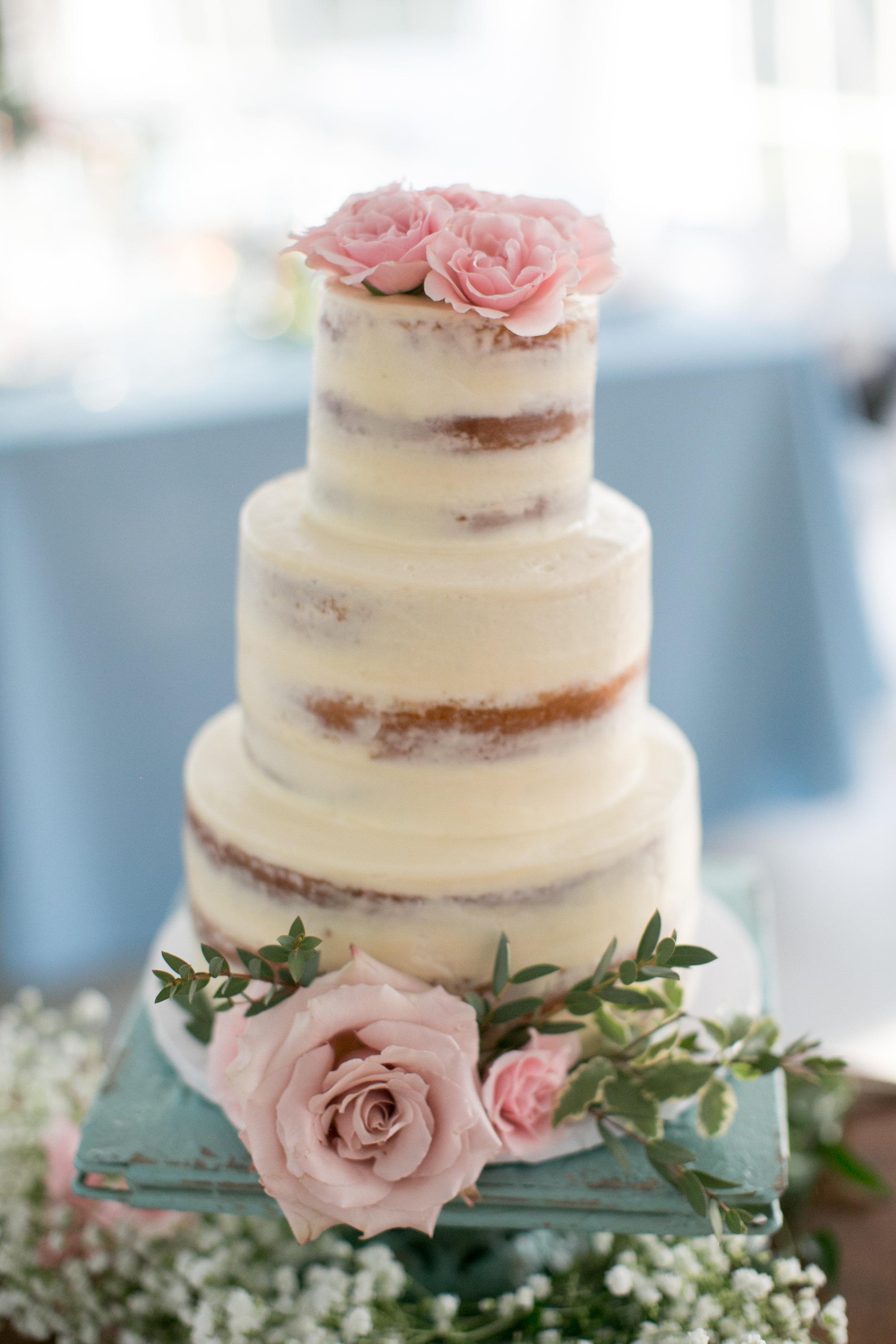 Semi-Naked Cake