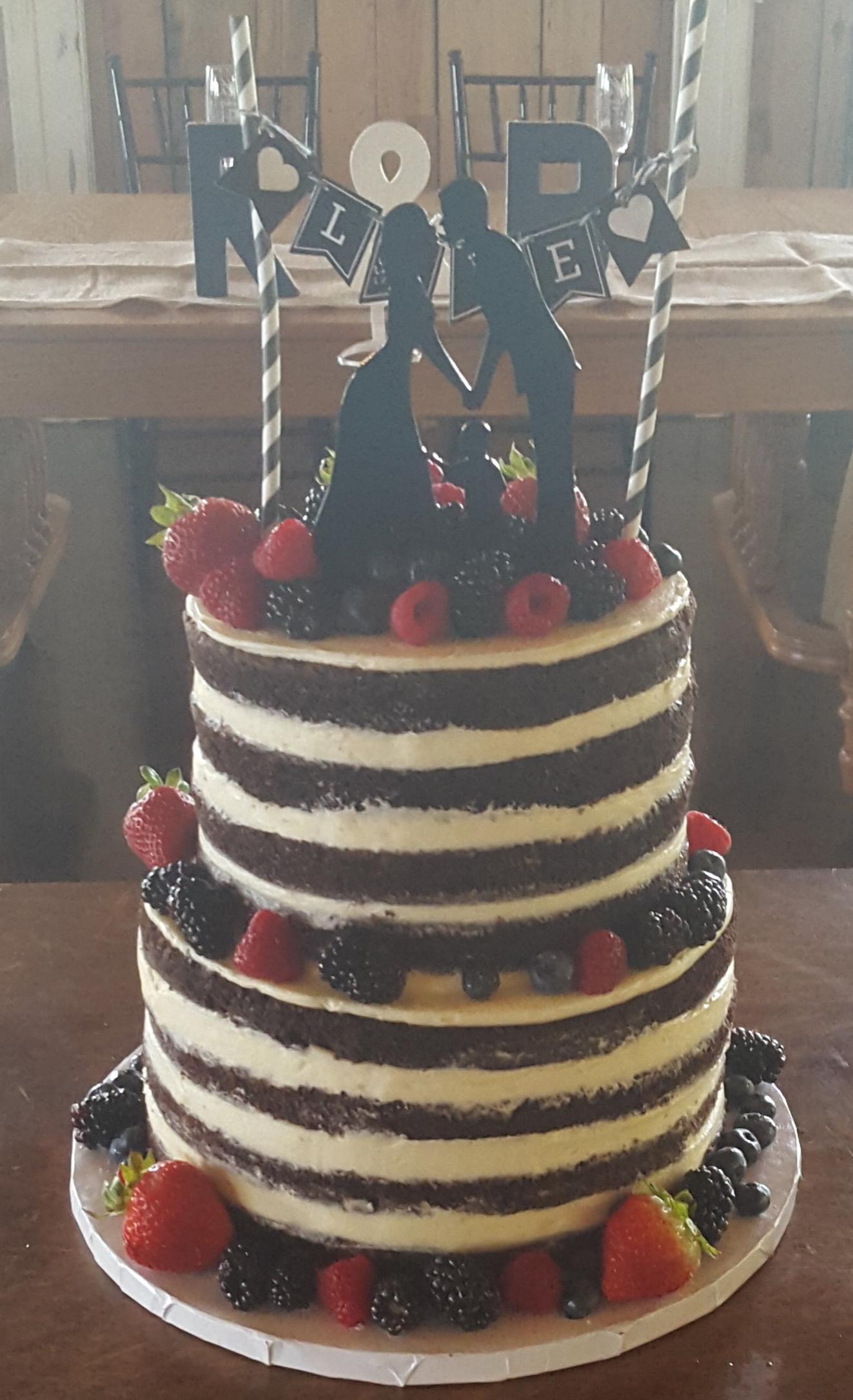 Chocolate Naked Cake