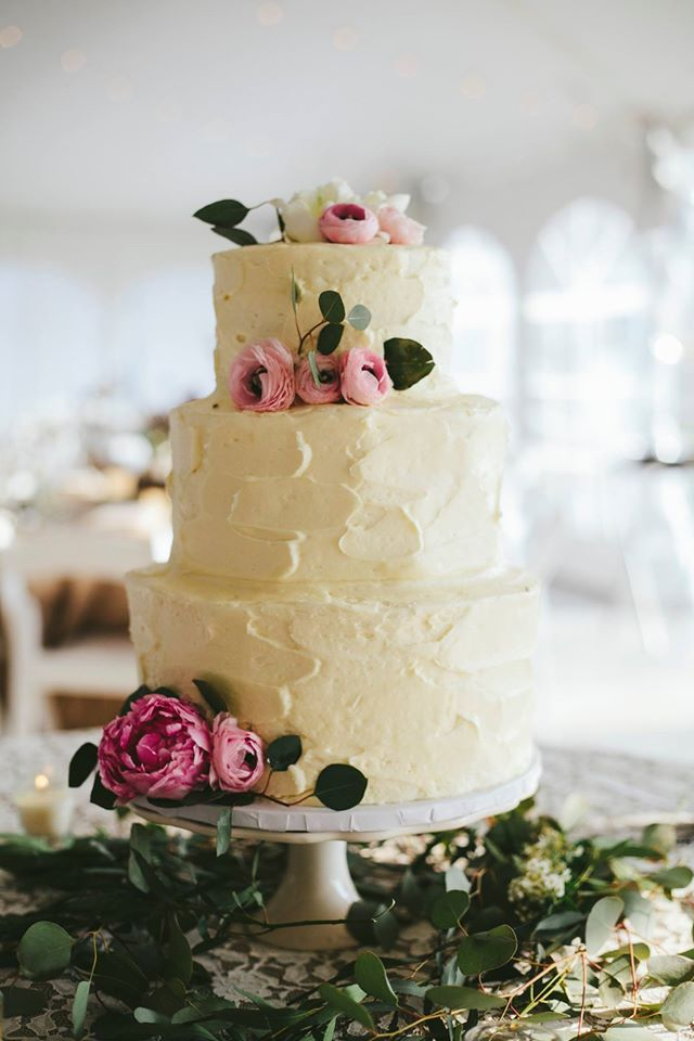 Our cakes are known for their impeccable style . . . - Whether adorned in fresh flowers or no flowers. . .your Sugar Path cake will keep them talking for months after the wedding. We can work with your florist to bring your dream cake to life.