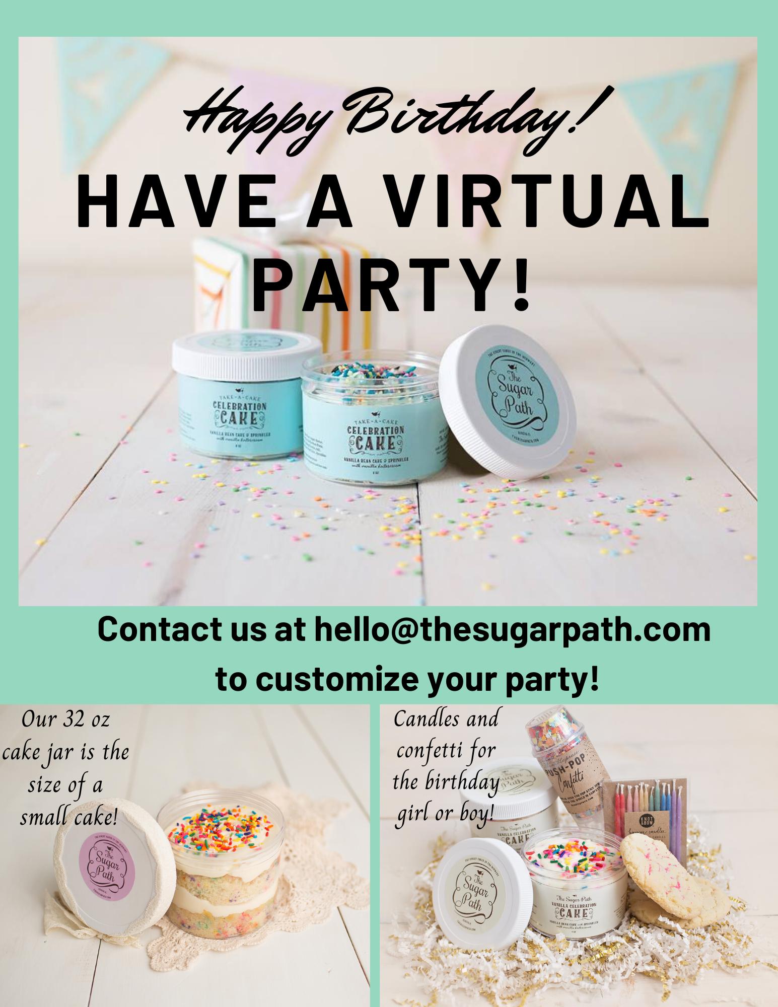 Birthday ideas virtual gift 22 Virtual