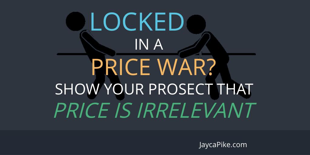 Price is irrelevant