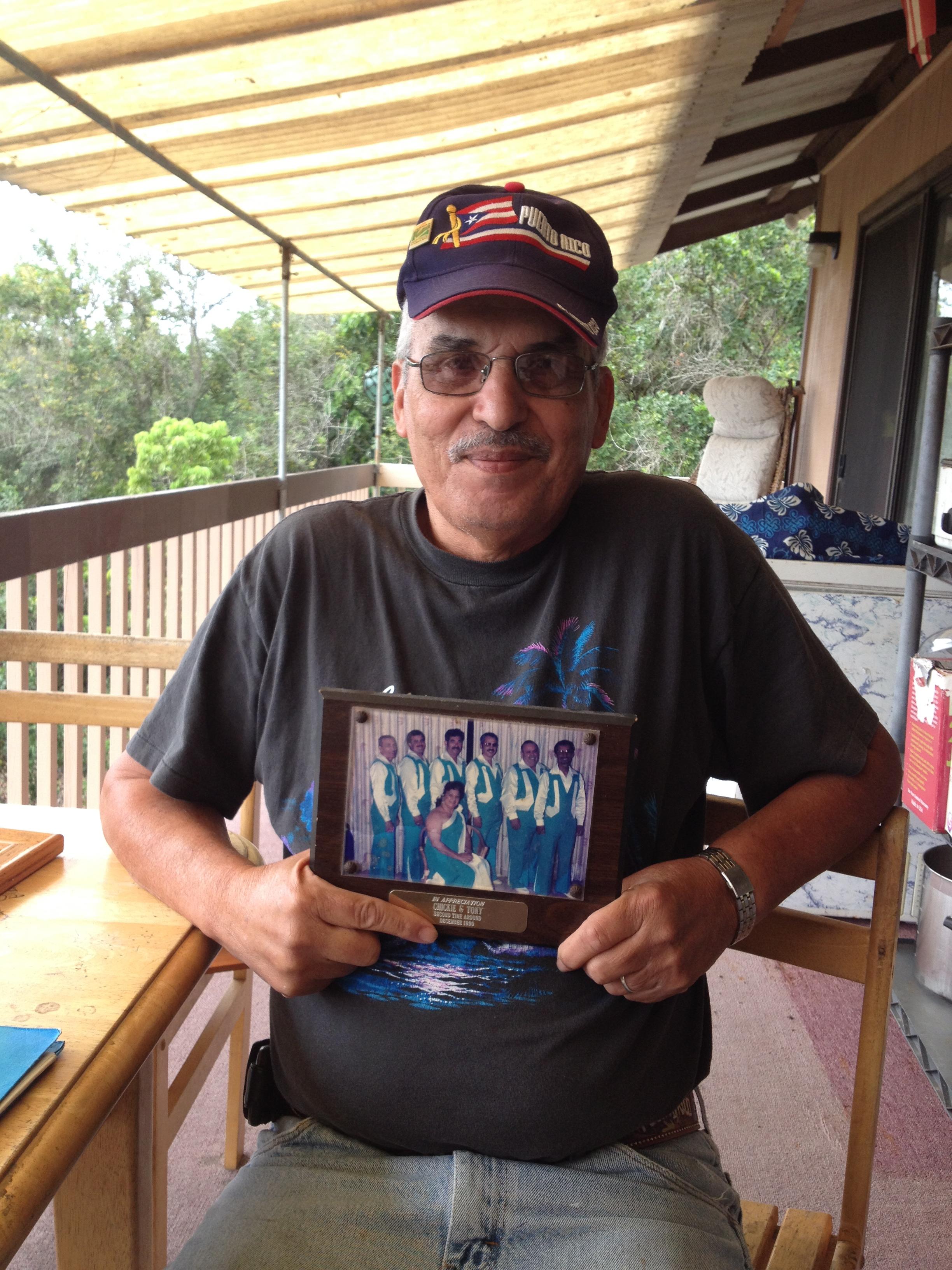 Tony Dias (Puerto Rican). Community activist, artist. Mexican.