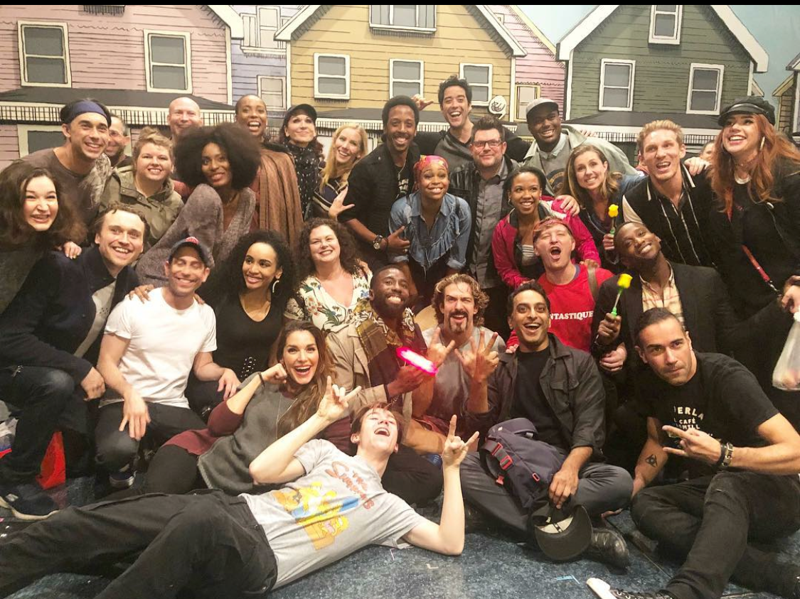 The Casts of Smokey Joe's Cafe and Getting The Band Back Together.PNG