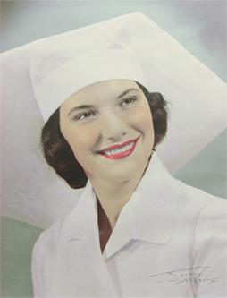 Joy as a newly graduated nurse