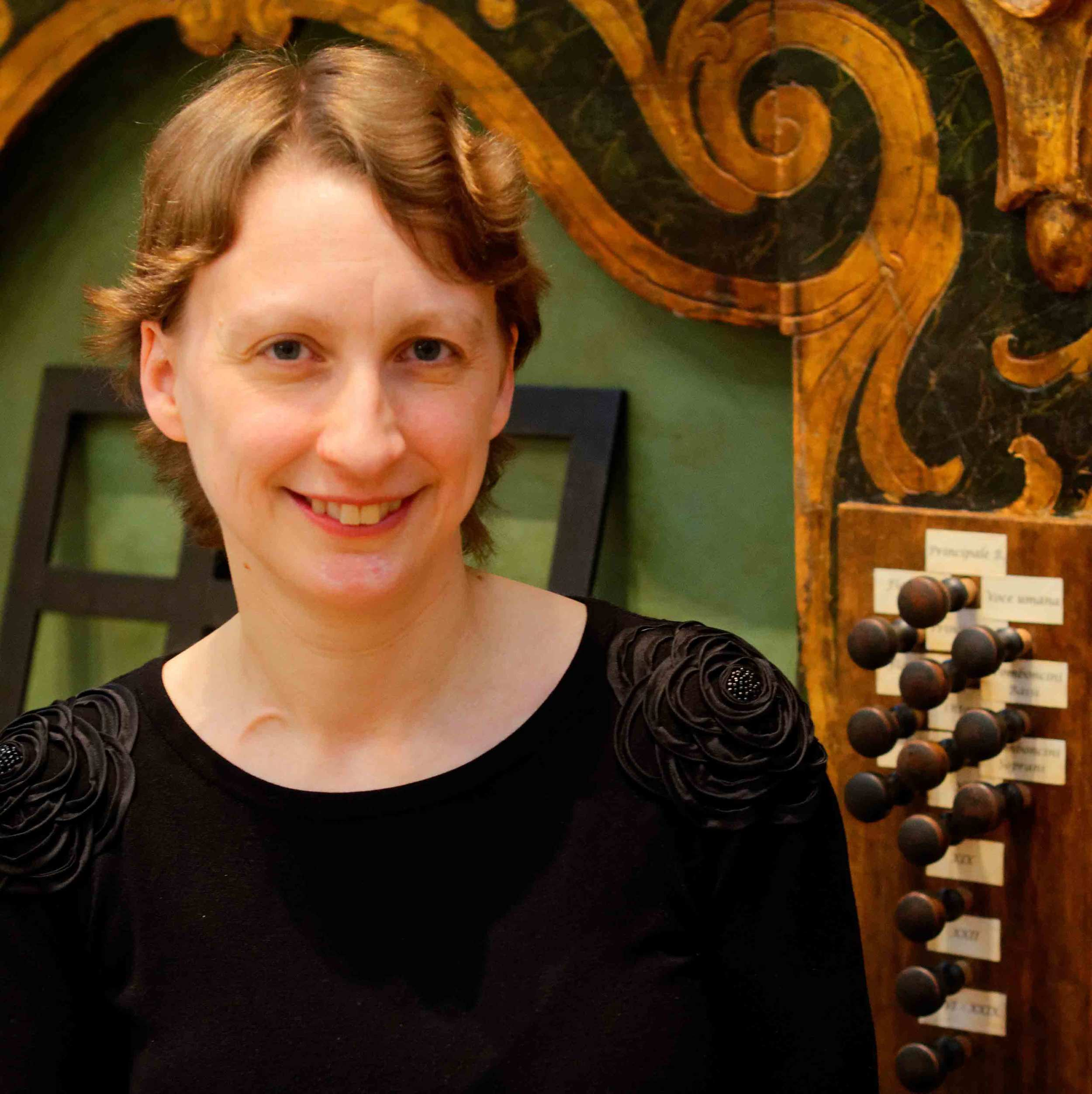Naomi Gregory, organ and harpsichord