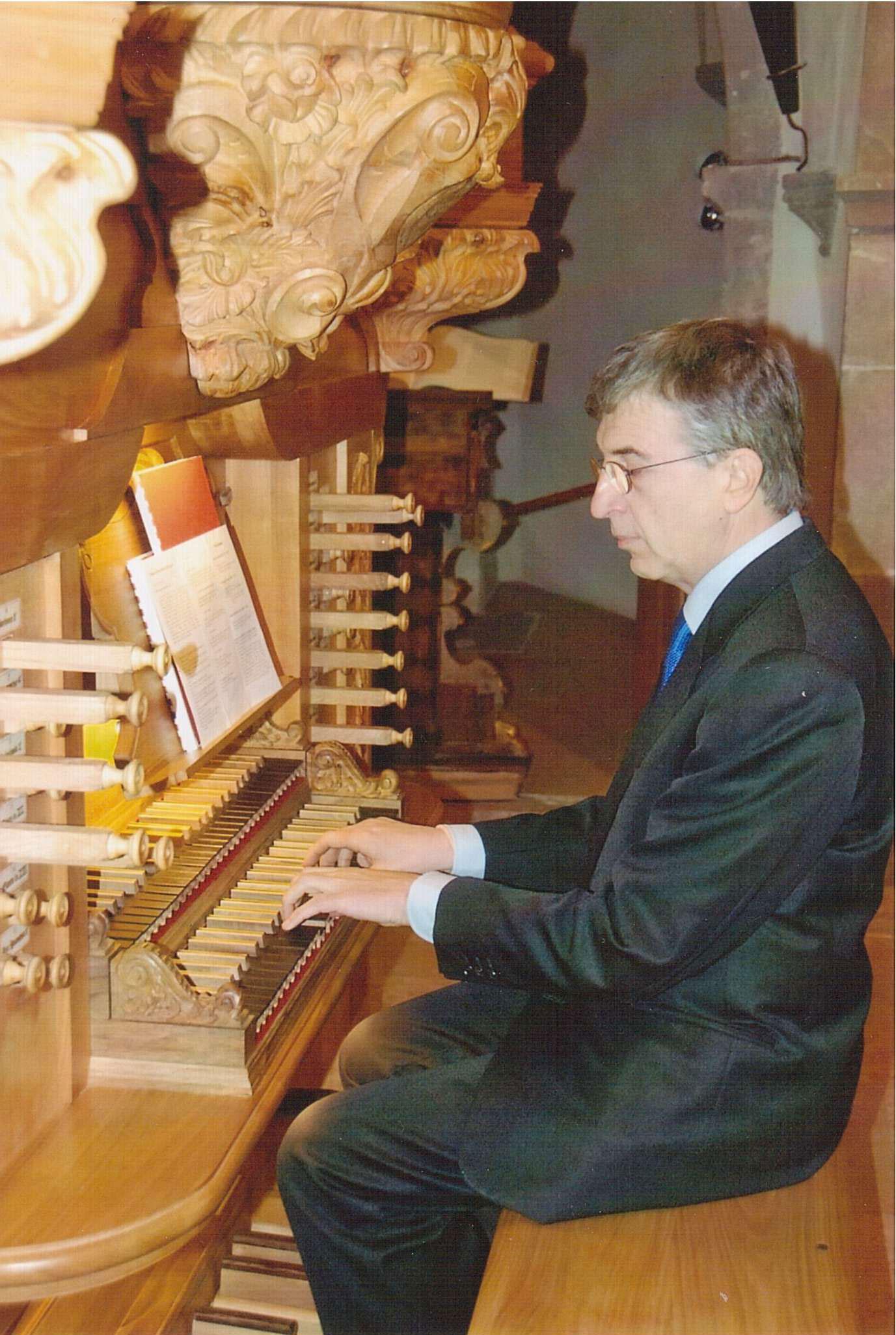Edoardo Bellotti, organ