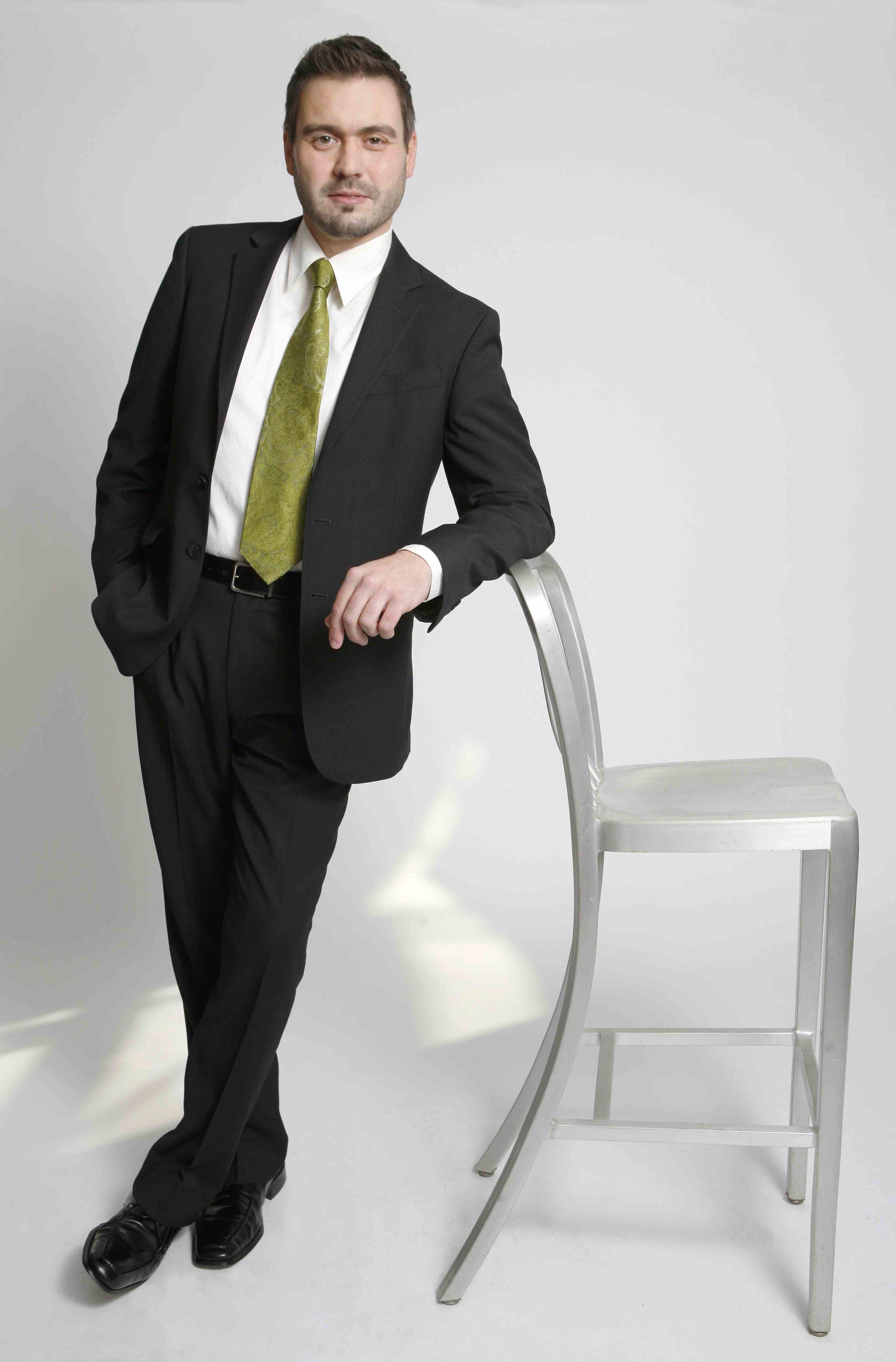 Mischa Bouvier, baritone