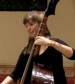 Joëlle Morton, violone