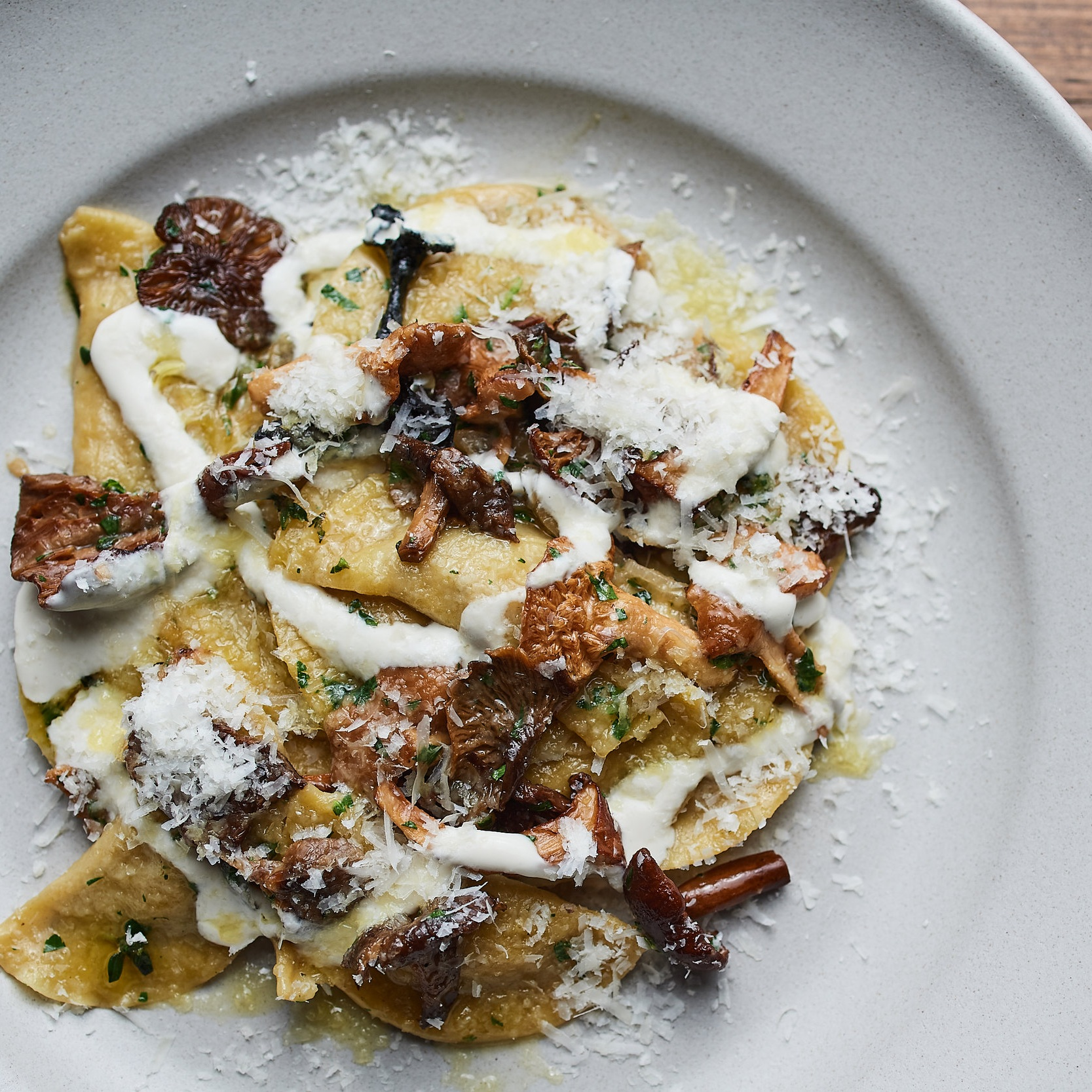 Wild Mushroom Pasta Recipe