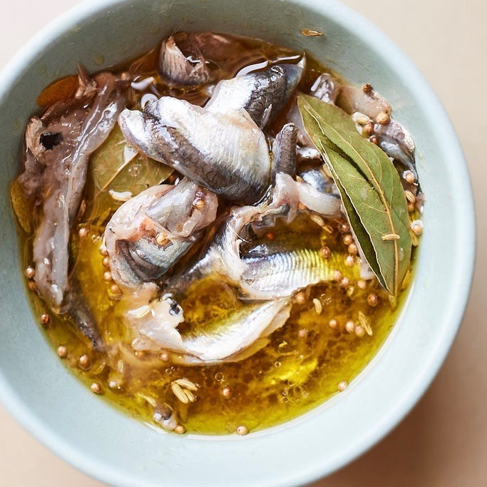 Cured Anchovies Recipe