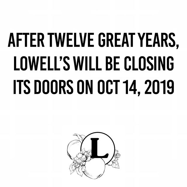 """""""Here's to what we have shared, what we will miss, and what we will create in the future."""" - Lowell  We look forward to sharing a meal with you over the next two weeks. Please follow the link in our bio to read more."""