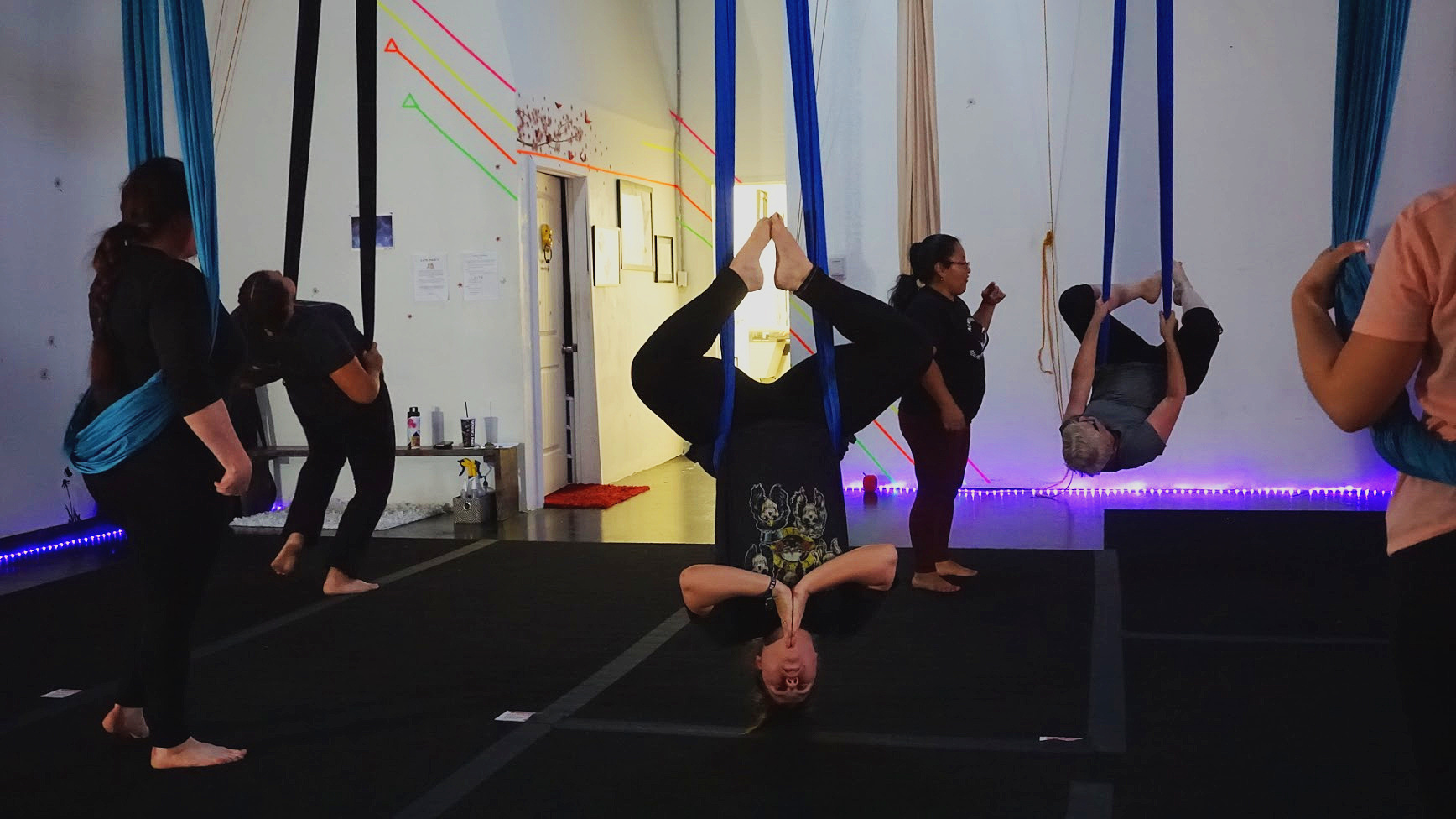 Fun, family, fitness!    Aerial & Pole classes for all!