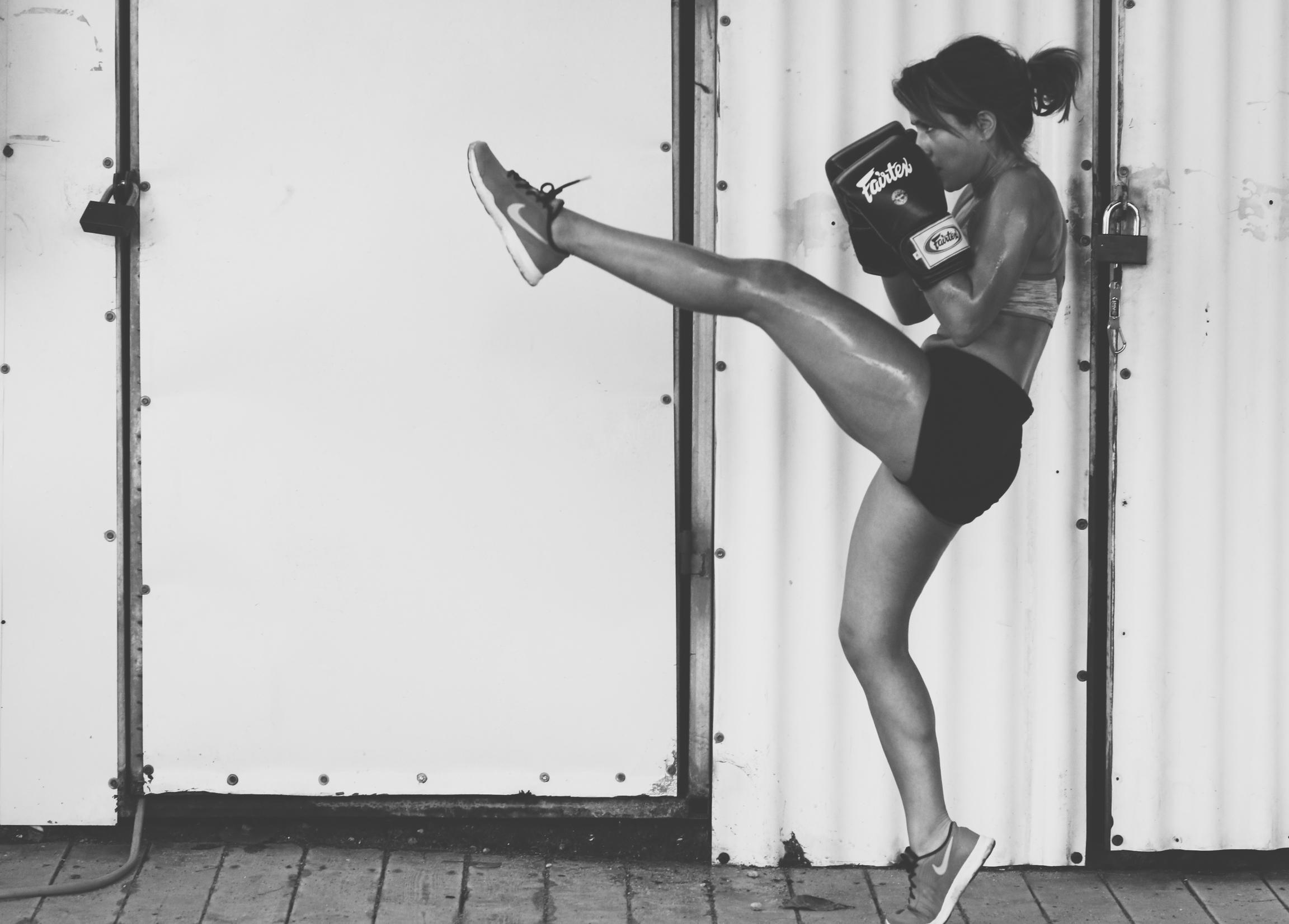 michelle cohen kickboxing