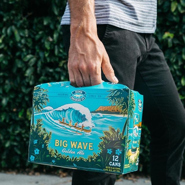 Big Wave for the Big Game @konabrewingco 🏈