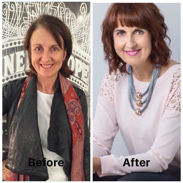 Client transformation bouche boutique