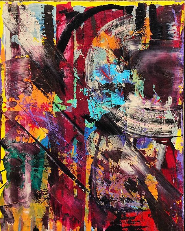 "Artist: Erika Rachel Size: 30"" x 40"" Acrylic paint on canvas For pricing inquiries lynn@Hutchinsamc.com  #art #artistoftheday #luxerydesign #luxuryrealestate #lawyerlife #lawyer #art4sale #artcollector #miamiart #artgalleries @erikarachelart"