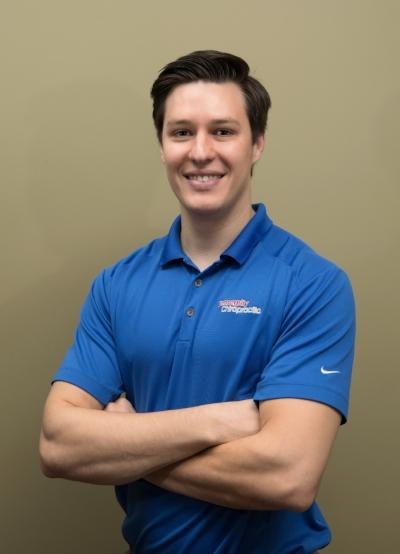 (Dr!!) Dwayne Golbek - posing for his headshot at Tensegrity Chiropractic :)